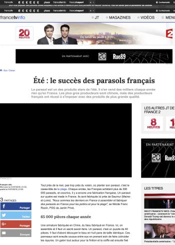 France 2 - Journal 20 heures - 21 juillet 2016 - copie