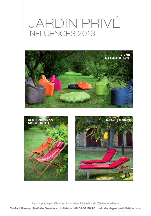 Jardin Privé > collection 2013