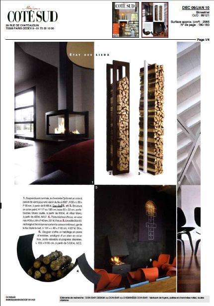 DonBar Design ... vu dans Maison Côté Sud